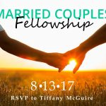 2017.07.30 Married Couples Fellowship