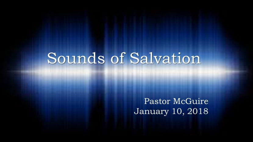 2018.01.10 Sounds of Salvation Pastor