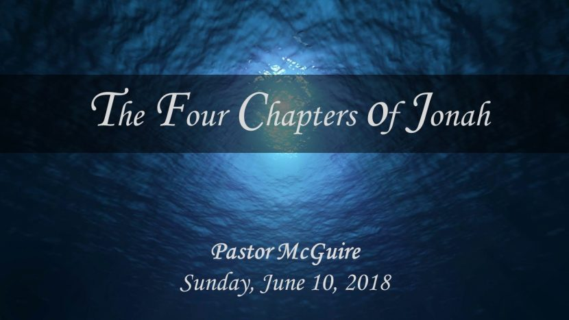 2018.06.10Four Chapters of Jonah(Pastor)
