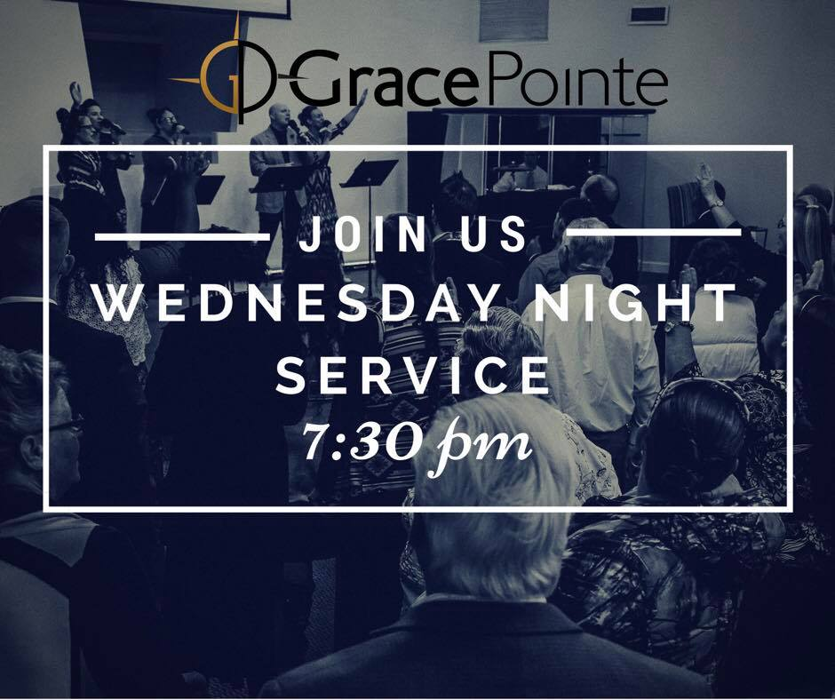 Wednesday night Service