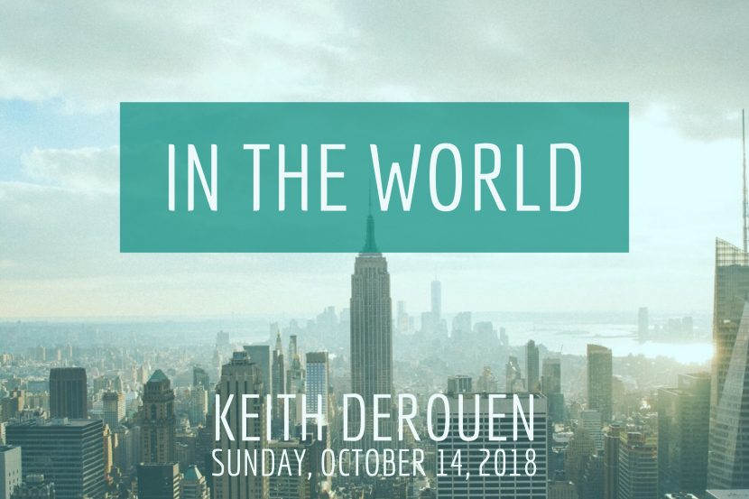 2018.10.14 In the World (Keith)