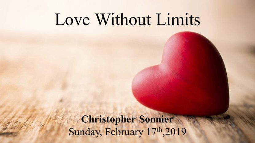 2019.02.17 Love without limits Chris