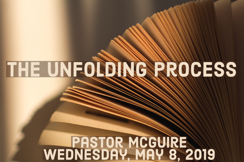 2019.05.08 the unfolding process