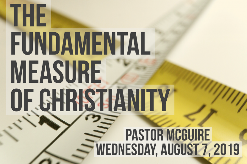 2019.08.07 Fundememytsl Measure Pastor
