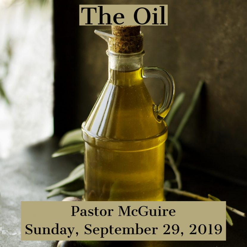 2019.09.29 Thee Oil (Pastor)